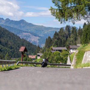 Motorrad fahren im Lesachtal
